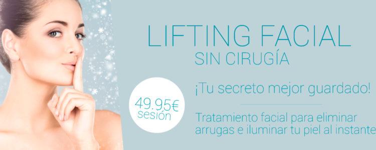 LIFTING FACIAL SIN CIRUGÍA POR 49.95€